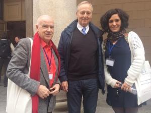 FTL2 conference delegates: M. Hayes, Z. Kovecses, M. Bolognesi.